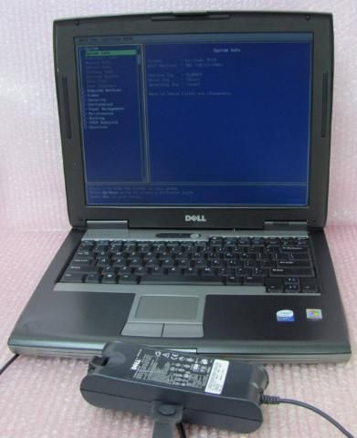Dell Latitude D520 Core 2 Duo 1.66GHz 1536MB Laptop Parts Repair Ac
