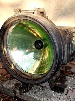 RARE Headlight Steam Locomotive #4308, GOLDEN GLOW  St.LOUIS San