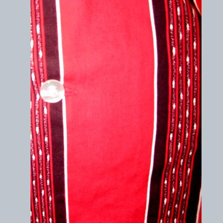 CAT ROCKIN MOD ROCKABILLY TEDDY BOY DRESS SHIRT EAMES STRIPES
