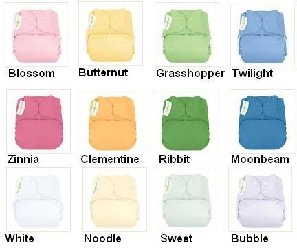 ELEMENTAL ORGANIC 12 PACK OF CLOTH DIAPERS NEW WITH TAGS