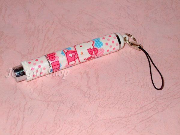 Sanrio Hello Kitty Phone Strap Charm Ballpoint Pen