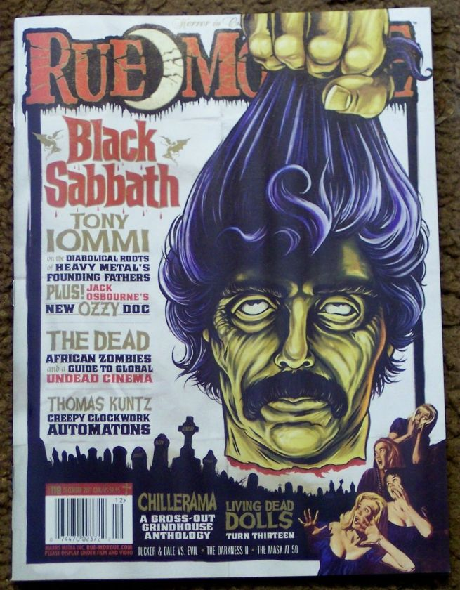 December 2011 BLACK SABBATH Tony Iommi OZZY Living DEAD DOLLS