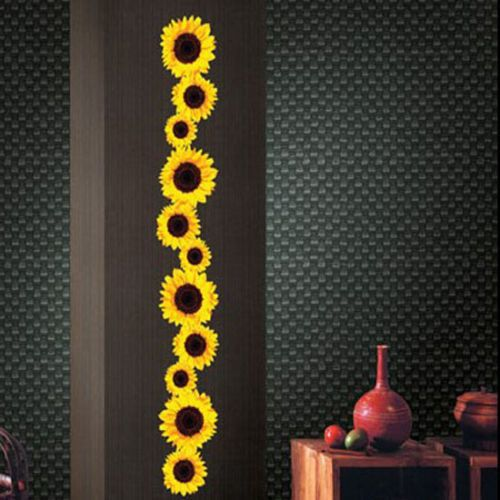 Blossoms Adhesive Removable Wall Decor Accents Sticker Decals Vinyl