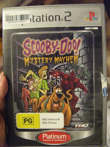 Scooby Doo Mystery Mayhem (Playstation 2)