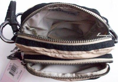 KIPLING LOURDES Small Handbag Shoulder Crossbody Bag with Leather