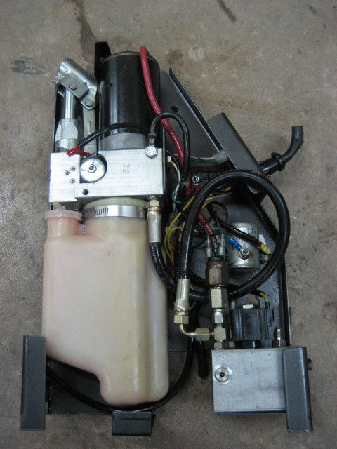 Monarch 12 12v Volt Dc Electric Auxillary Hydraulic Pump